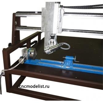 Моделист-1225ST4P 4x или 5-ти осевой станок с поворотным шпинделем
