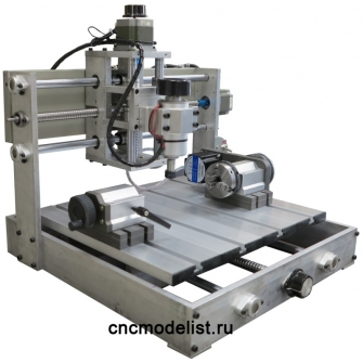 CNC-2535AL4X 4х осевой гравировально-фрезерный станок