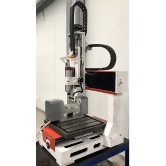 CNC-4040AS-5P 5X осевой фрезерный ЧПУ станок