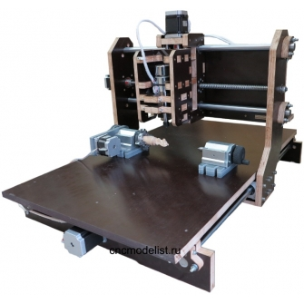 Моделист-4060Х4 Фрезерный 4х осевой ЧПУ станок