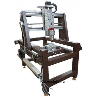 CNC-6080ST5S фрезерный станок с наклонно-поворотным столом