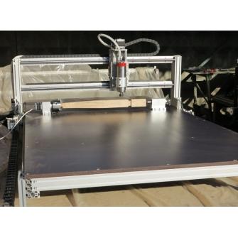 Моделист-AL-4x фрезерный ЧПУ станок  Станок с поворотной осью