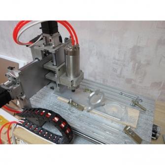 CNC-3040AL800w Настольный гравировально-фрезерный станок