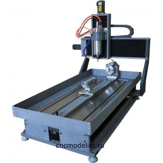 CNC-5080AS4X  4х осевой фрезерный ЧПУ станок