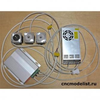 Набор электроники для 4х осевого ЧПУ станка