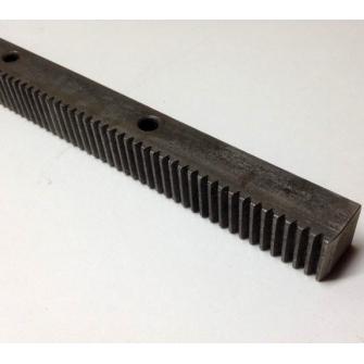 Зубчатая рейка прямозубая М1.0 длина 1000мм