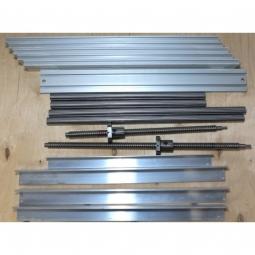Набор для самостоятельной сборки станка из металла 3040