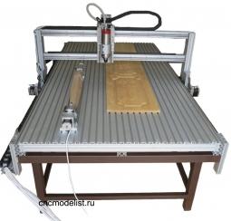 Моделист-120250AL (4x)   Станок с поворотной осью 1,2х2,5м