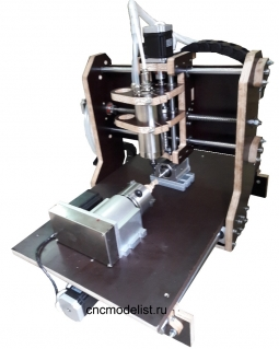 Моделист-3040X4 4х осевой фрезерный ЧПУ станок
