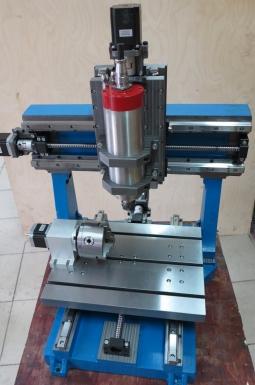 4х осевой фрезерный станок по металлу CNC-3040AL-S