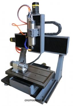 4х осевой фрезерный станок по металлу CNC-3050AL4S