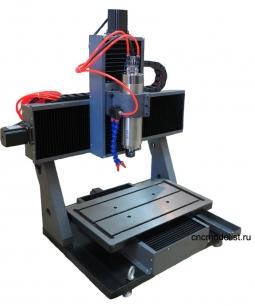 Настольный фрезерный станок по металлу CNC-3050AL-S