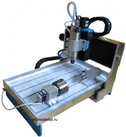CNC-3658AS4X 4х осевой фрезерный станок по металлу