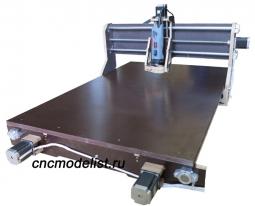 Моделист-6090X4 4х осевой фрезерный ЧПУ станок
