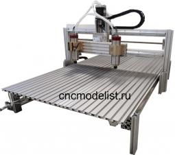 МоделистCNC-AL-2x шпиндельный фрезерно-гравировальныйстанок с ЧПУ