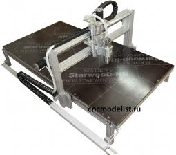 Моделист-90120AL Гравировально фрезерный станок 900х1200мм