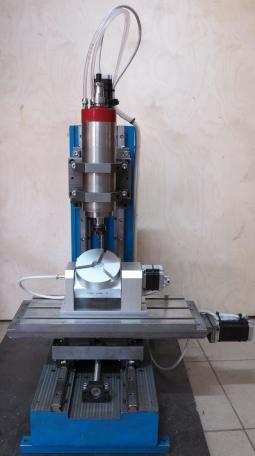 5-ти осевой гравировально-фрезерный станок CNC-2030ASV-5P