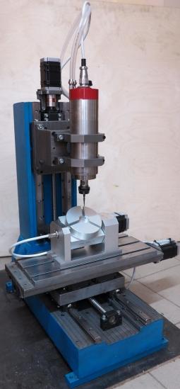 CNC-2030ASV-5P  5х осевой фрезерный ЧПУ станок