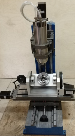 CNC-2030ASV-5 5-ти осевой гравировально-фрезерный станок