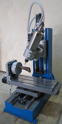 CNC-2030ASV-5D 5-ти координатны фрезерный станок  с поворотным шпинделем