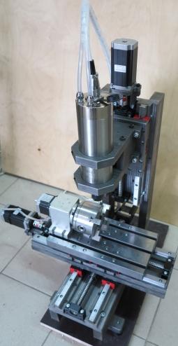 CNC-2030AS-4X Настольный 4х осевой гравировально-фрезерный станок