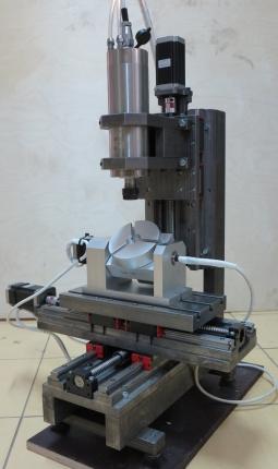 CNC-2030AS-5P 5-ти осевой гравировально-фрезерный станок