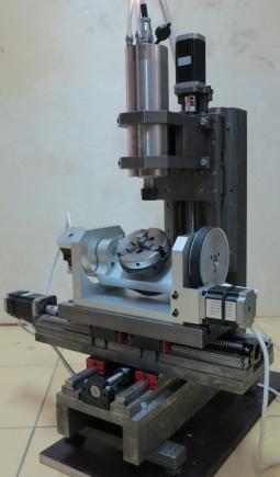 5-ти осевой гравировально-фрезерный станок CNC-2030AL5S