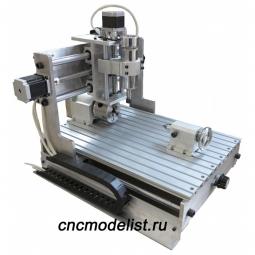 4х осевой настольный фрезерный станок CNC-3040AL4х