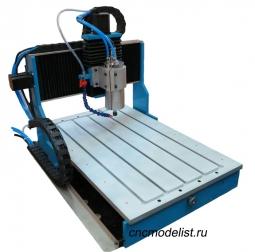 Настольный фрезерный станок по металлу CNC-3658AL-S