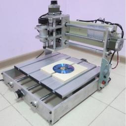 CNC-2535AL2 Настольный гравировально фрезерный станок