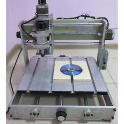 4х осевой гравировально-фрезерный станок CNC-2535AL4х