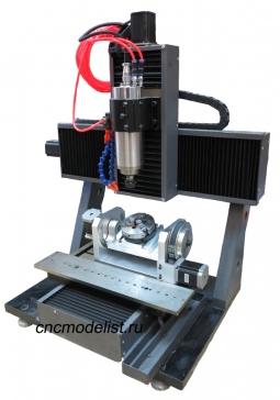 5-ти осевой гравировально-фрезерный станок CNC-3050AL5S