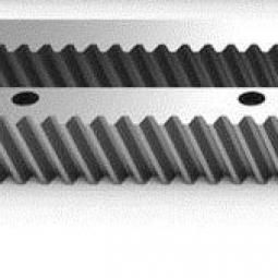 Зубчатая рейка косозубая длина 671мм