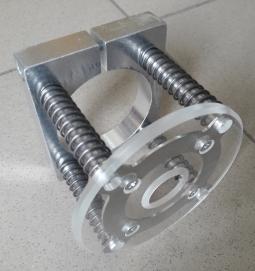 Насадка прижим на шпиндель(пластик)D=80 мм