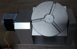 Поворотный механизм К11 80мм, h=65мм 4й и 5й оси на гармоническом редукторе