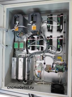 CNC-2045ST-D фрезерный ЧПУ станок многошпиндельный