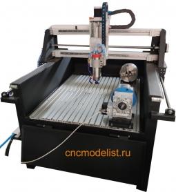 Серия CNC-ST-V-4x фрезерный ЧПУ станок по камню и металлу