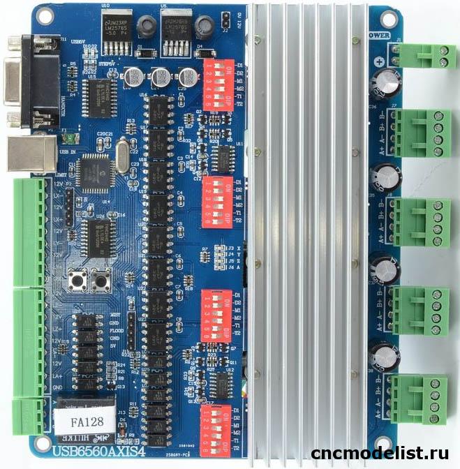 USB контроллер настольного ЧПУ